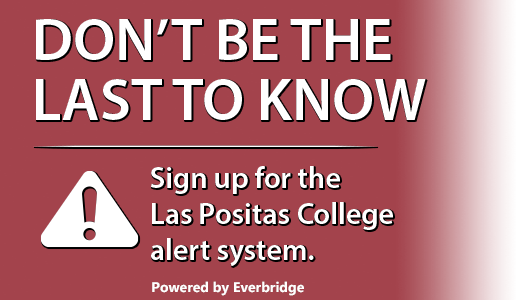 Sign Up for the Las Positas College alert system