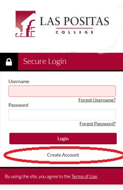 Create an account on Campus Logic