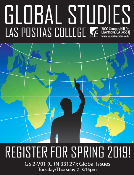 Register for Global Studies 1 Fall 2018.