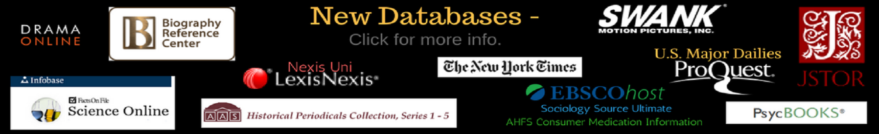 Click here to view list of databases a to z