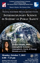 NARAC: Interdisciplinary Science in Support of Public Safety