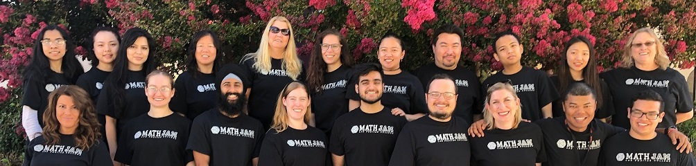 Math Jam faculty and students.