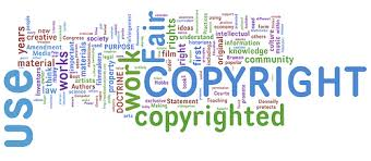 Copyright word art.