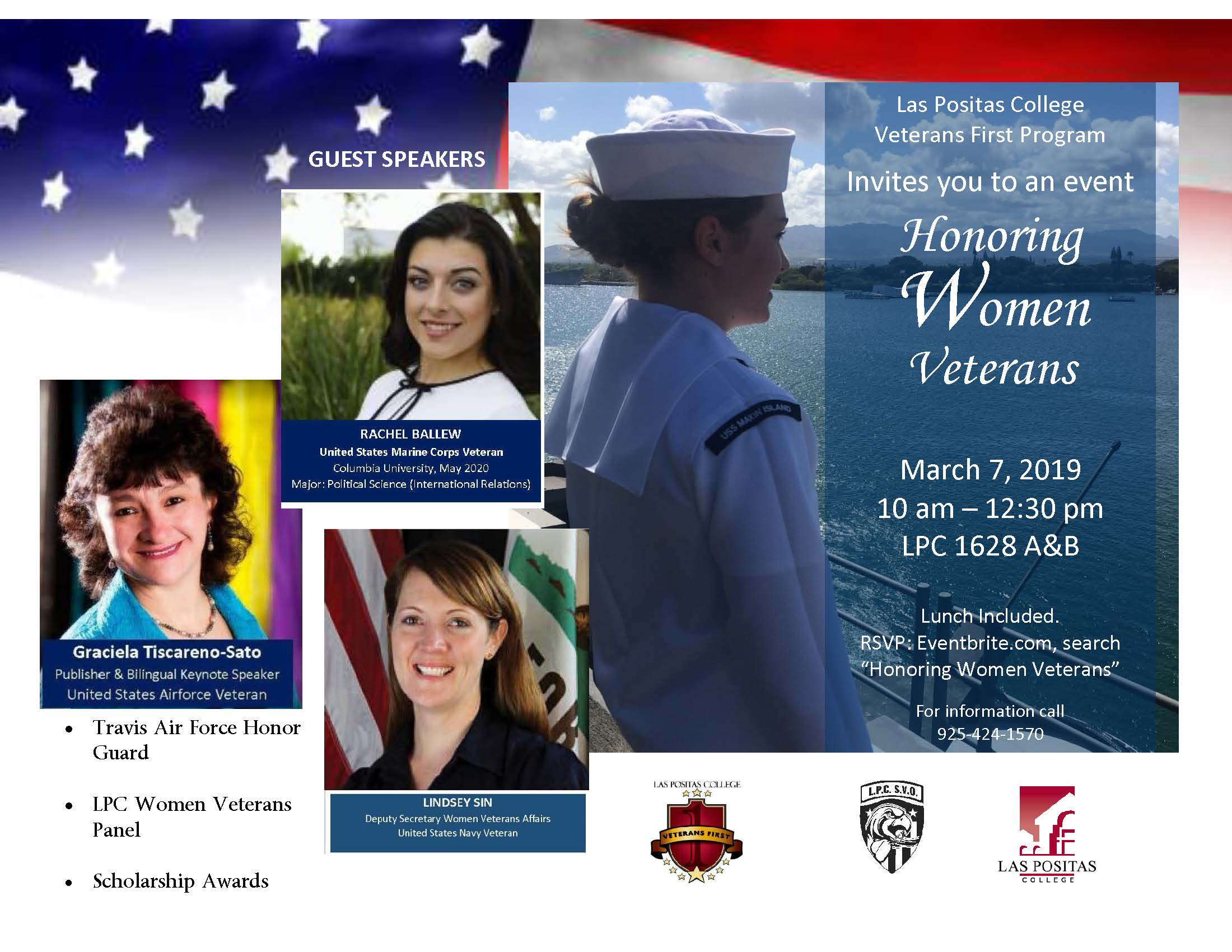 Honoring Women Veterans 2019 Flier