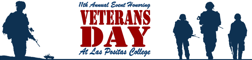 11th Annual Event Honoring Veterans Day at Las Positas College.